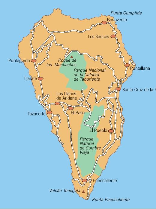 La Palma Und Sein Parador Historische Hotels