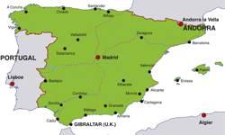 Karte Von Spanien Festland.Das Grune Spanien Urlaub In Nordspanien